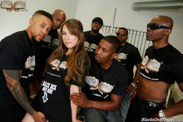 Zoey Laine is Uncaged and Let Loose Exclusively On BlacksOnBlondes.com
