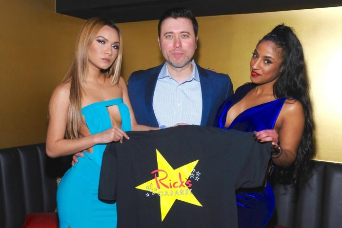 "Comedian Hosts ""The Week in Sex"" Radio Show from Rick's Cabaret New York–photos"