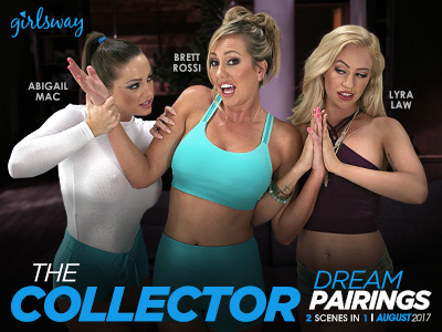 Brett Rossi is a Collector in Latest Girlsway 'Dream Pairings' Scene, Out August 10