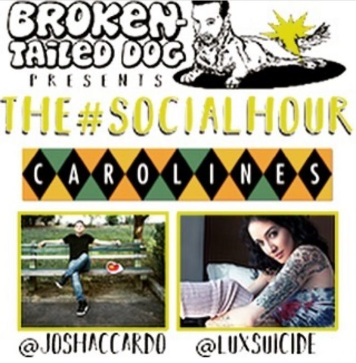 Lux Suicide to Perform at Josh Accardo's The #Social Hour at Carolines on Bwy