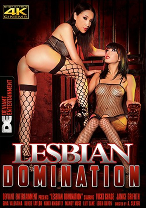 Vicki Chase Lands the Cover of Deviant Entertainment's Lesbian Domination