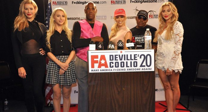 Adult Star Cherie Deville Announces Presidential Run – Coolio to Serve as Running Mate