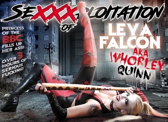 Leya Falcon Transforms into Whorley Quinn in 'The SeXXXploitation of Leya Falcon'