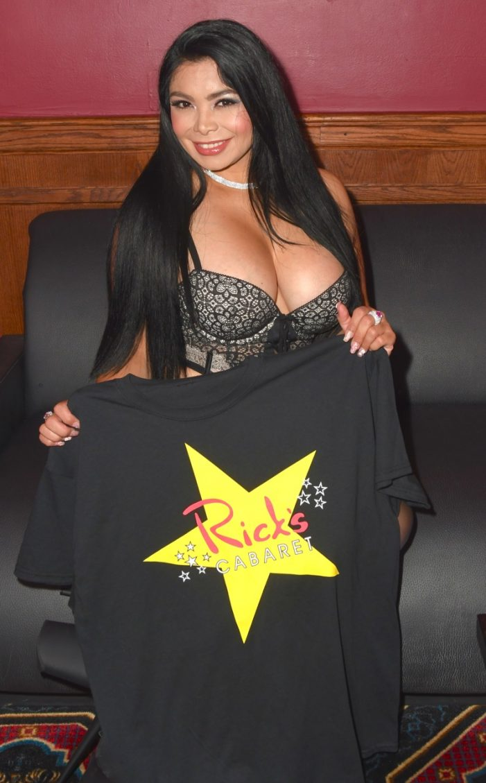Lingerie Party at Rick's Cabaret New York–photos