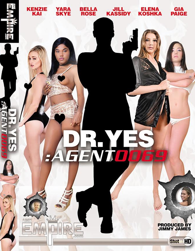 """James Bond themed movie, """"Dr. Yes : Agent 0069"""" Released By ATKingdom/AMK  w/Gia Paige"""
