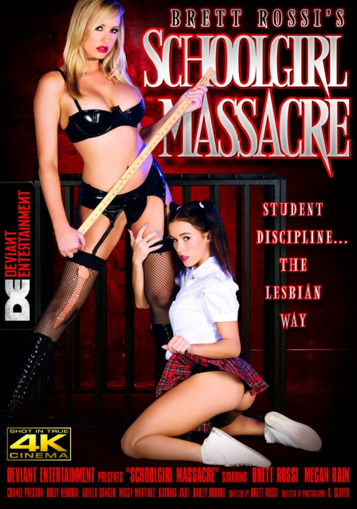 Brett Rossi Dominates in Latest Directorial Feature, Schoolgirl Massacre