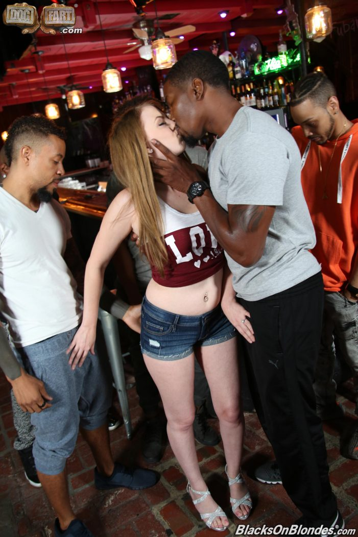 Jenna Marie Featured In New Scenes From BlacksOnBlondes.com & InterracialPickups.com