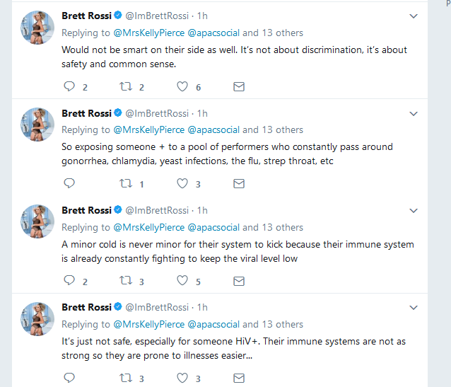 Brett Rossi Tweets