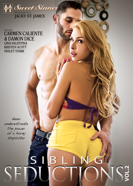 "Carmen Caliente Stars In Sweet Sinners ""Sibling Seductions 2″"