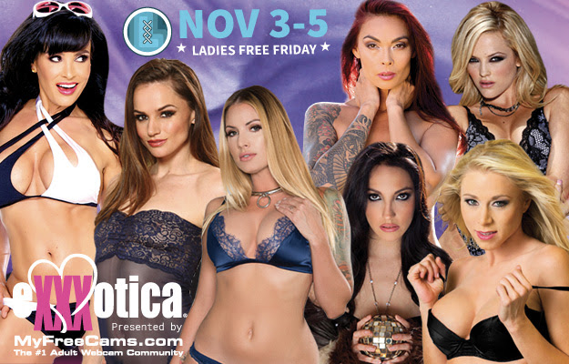 Angela White, Riley Reid Headline EXXXOTICA New Jersey