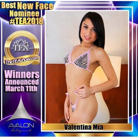 Valentina Mia Lands TEA Nomination for Best New Face