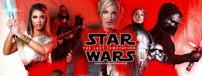 Digital Playground Releases 'Star Wars: The Last Temptation A XXX Parody'
