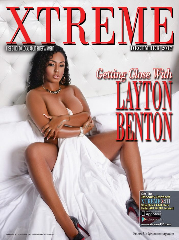 Layton Benton Lands Cover of Xtreme Magazine