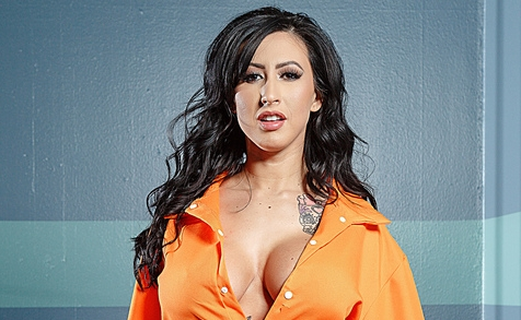 Inmate Lily Lane Gets Special Treatment in a New Brazzers Scene
