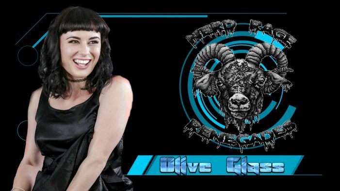 Olive Glass Charms the Hosts On the Nerd Rage Renegades Podcast