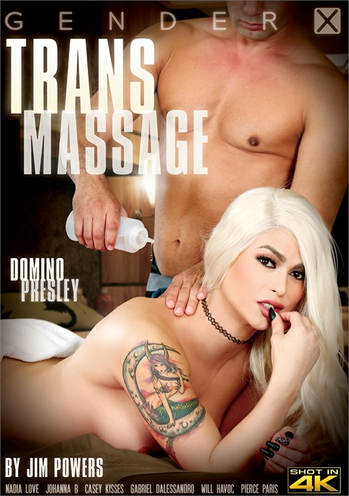 "Casey Kisses Stars in ""Trans Massage"""