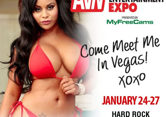 AVN Nominee Mayjean Heads to Las Vegas for the AE Expo