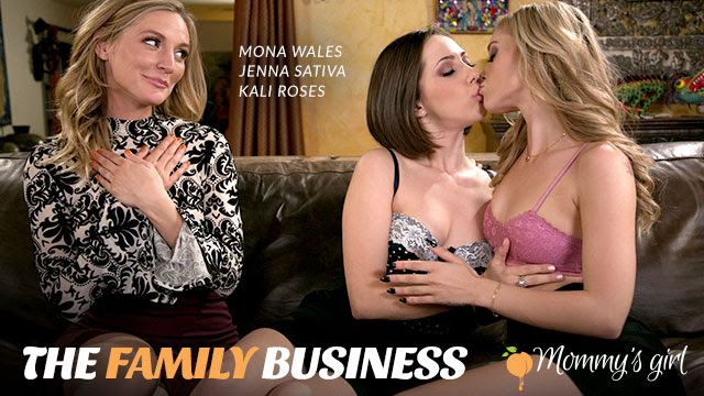 Girlsway Rolls Out The Family Business from Mommy's Girl w/Jenna Sativa