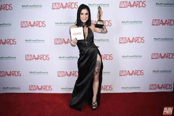 BurningAngel Entertainment Brings in Two 2018 AVN Awards