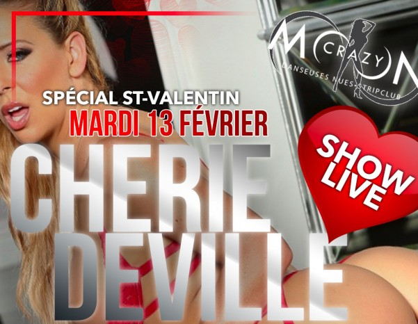 Cherie DeVille Featuring At Crazy Moon In Quebec Tuesday