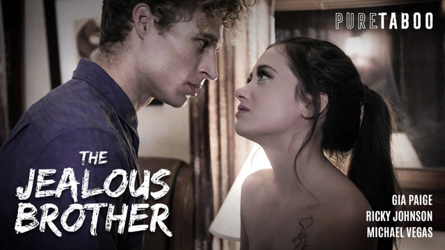 Gia Paige's Forbidden Teen Romance is Exposed in Pure Taboo's The Jealous Brother