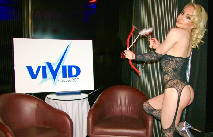 Valentine's Day–a three day/night event at Vivid Cabaret New York–photos