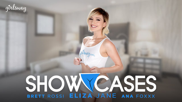 Girlsway's Girl of the Month Eliza Jane Presents New 'Showcases' 2-in-1 Scene