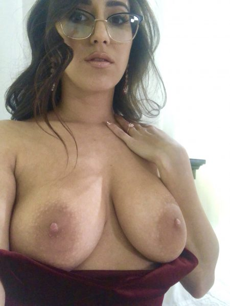 April O'Neil's Boobs