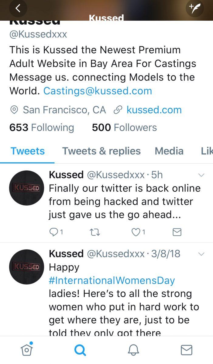 After Fucking 4 Girls Over, Kussed.Com Pops Back Up On Twitter