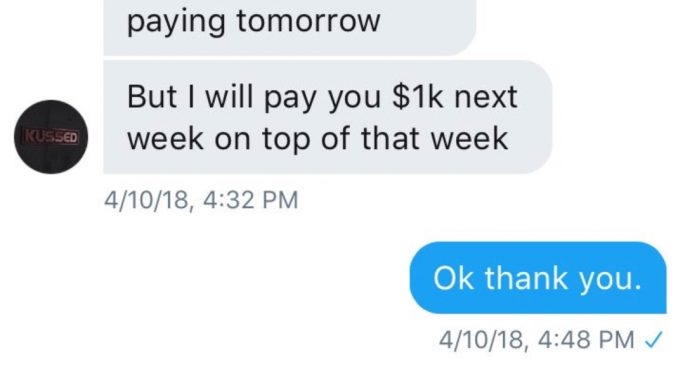 Scammer Update: Kussed.com Owner Ali Refuses To Make Good On His Performer Payments