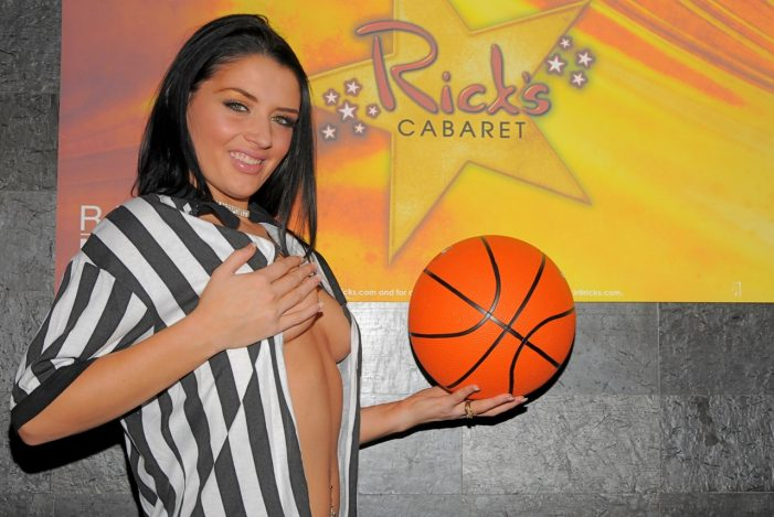 NBA Finals–watch the games and get VIP treatment at Rick's Cabaret in New York City–photos