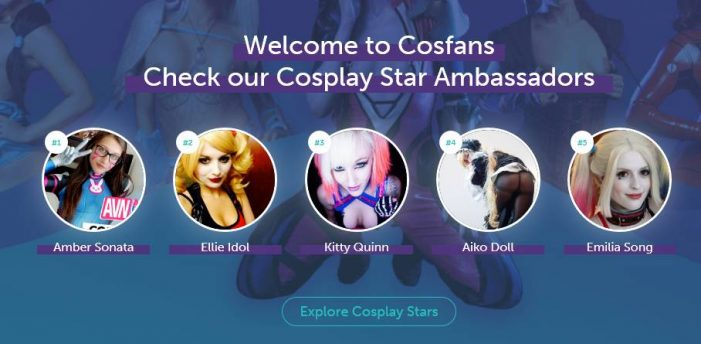 Cosfans First Ever Clips site developed exclusively to serve the Cosplay community
