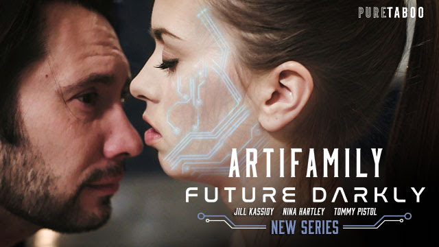 Jill Kassidy is Reborn as an A.I. Temptress in Pure Taboo's Future Darkly: Artifamily