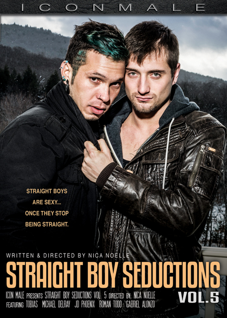 Icon Males 'Straight Boy Seductions 5' Available On Dvd