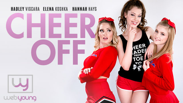 Girlsway's WebYoung Hosts a Cheer Off, Featuring Two New Model Debuts