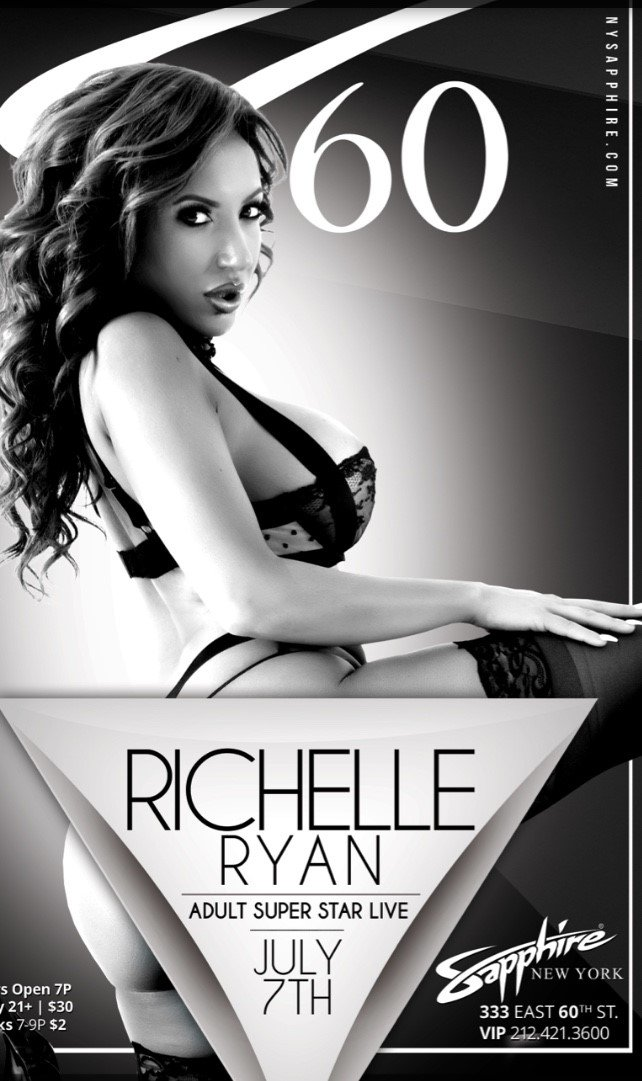 Richelle Ryan Dancing At Sapphire NYC June 7th