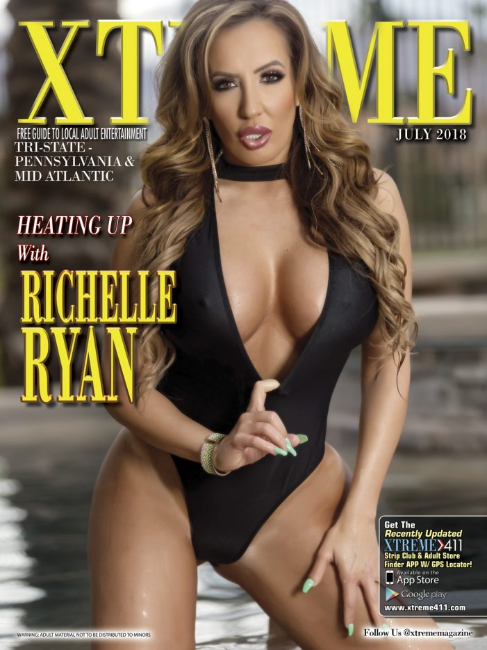 Richelle Ryan Lands Cover of Xtreme Magazine