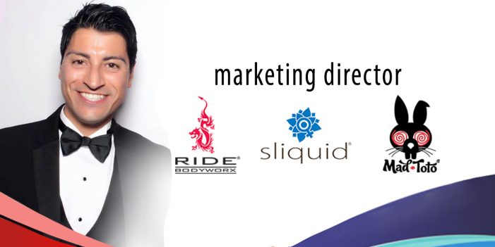 Erik Vasquez Promoted to Sliquid Marketing Director