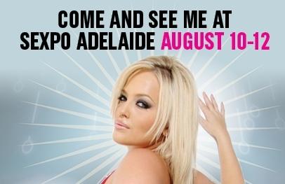 Alexis Texas, Zoey Monroe, and Kleio Valentien Attending SEXPO Australia