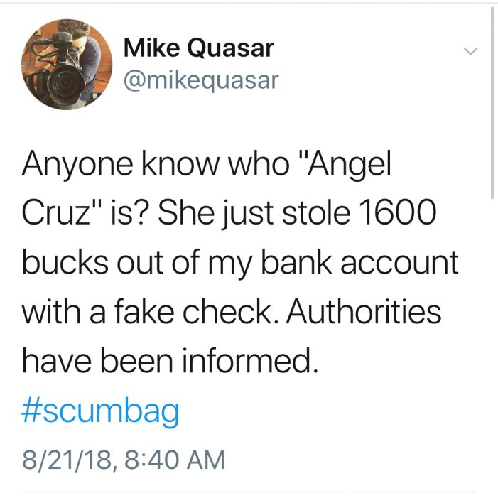 Mike Quasar Gets Scammed For $1600