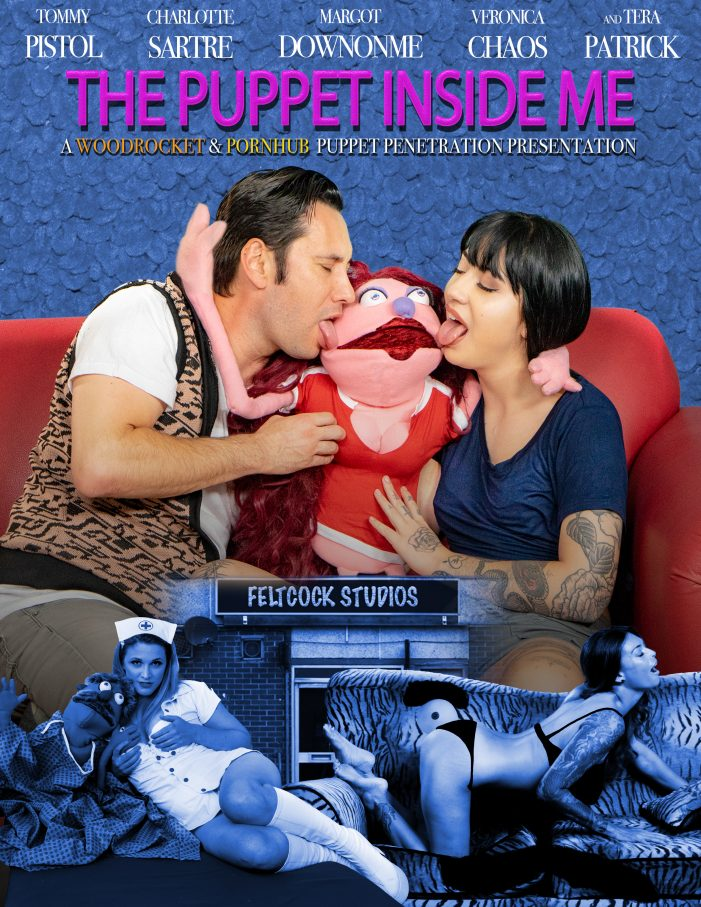 "WoodRocket's ""The Puppet Inside Me"", The BIGGEST Puppet Adult Film Ever"