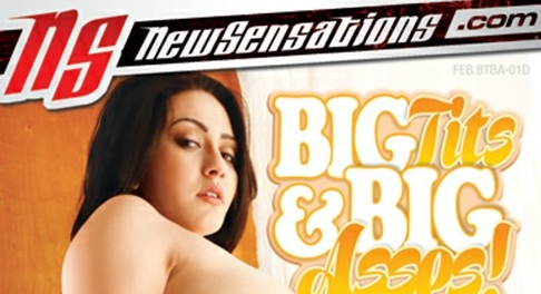 Mandy Muse Lands The Cover Of New Sensations' 'Big Tits & Big Asses!'