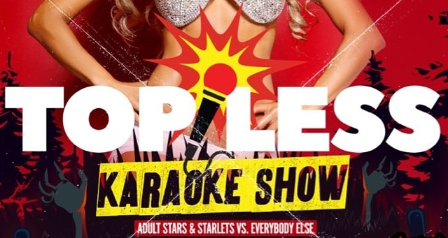 Kiki Daire Returns To Host 'Topless Karaoke' At Dames N' Games Tuesday