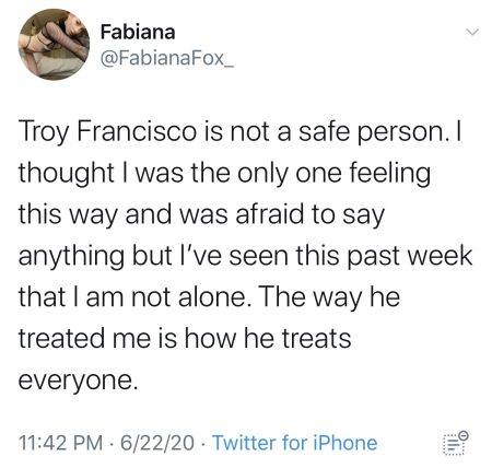 troy francisco