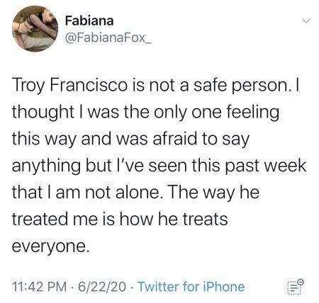 troy francisco