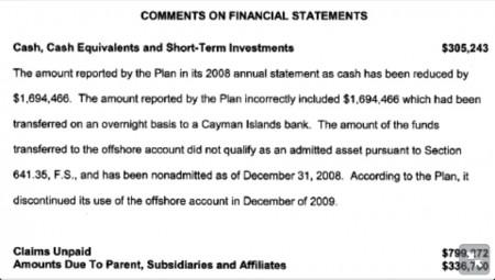 AHF hiding money in the Caymans