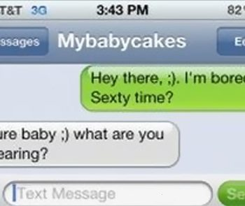 Middle school students sexting