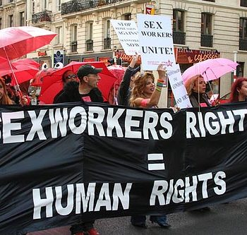 Sex worker protest
