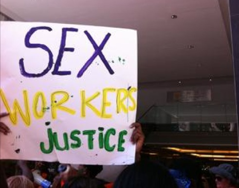 South Africa's sex workers march for justice