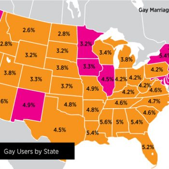 U.S. Southern States Watch The Most Gay Porn